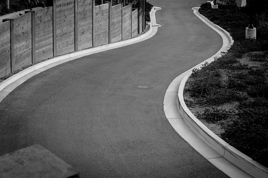High Angle View Of Empty Road Photograph by Jesse Coleman / EyeEm