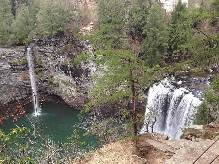 High Angle View Of Fall Creek Falls Photograph by Eddie Caldwell / EyeEm