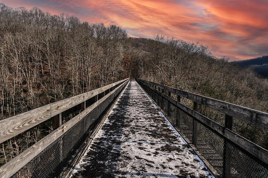 High Bridge Sunset Photograph