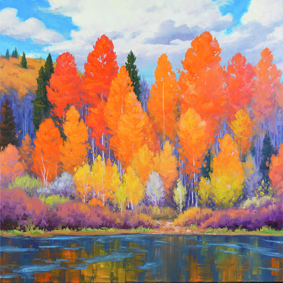 High Country Color Painting