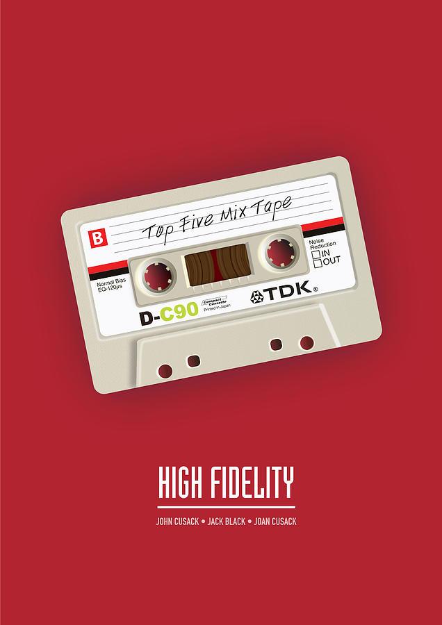 High Fidelity Digital Art - High Fidelity - Alternative Movie Poster by Movie Poster Boy