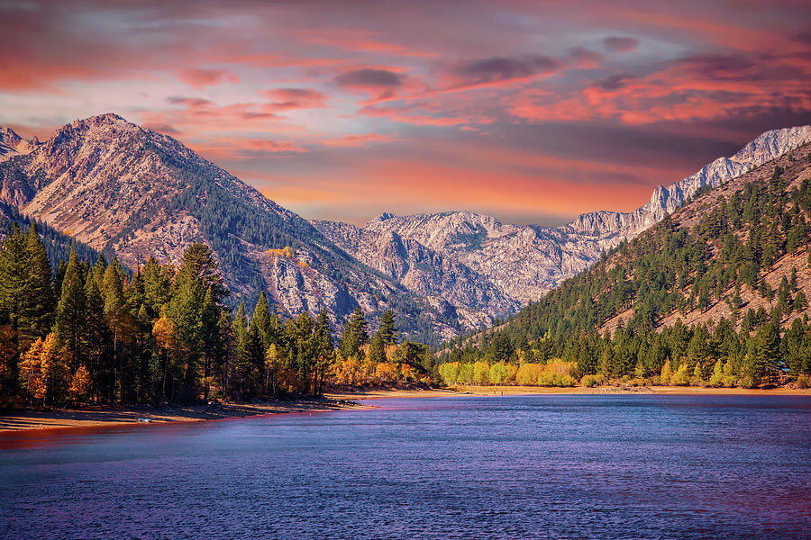 Twin Lakes Photograph - High In The Heavenly Sierra by Lynn Bauer