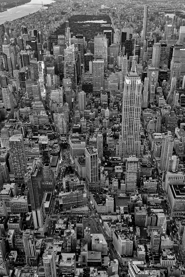 High On New York City BW by Susan Candelario