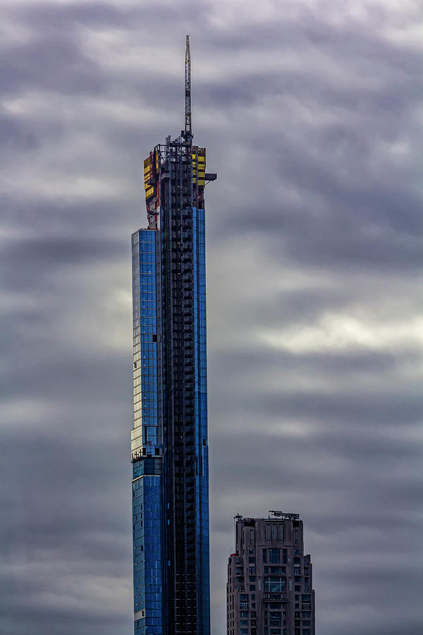 High Rise Construction NYC by Robert Ullmann