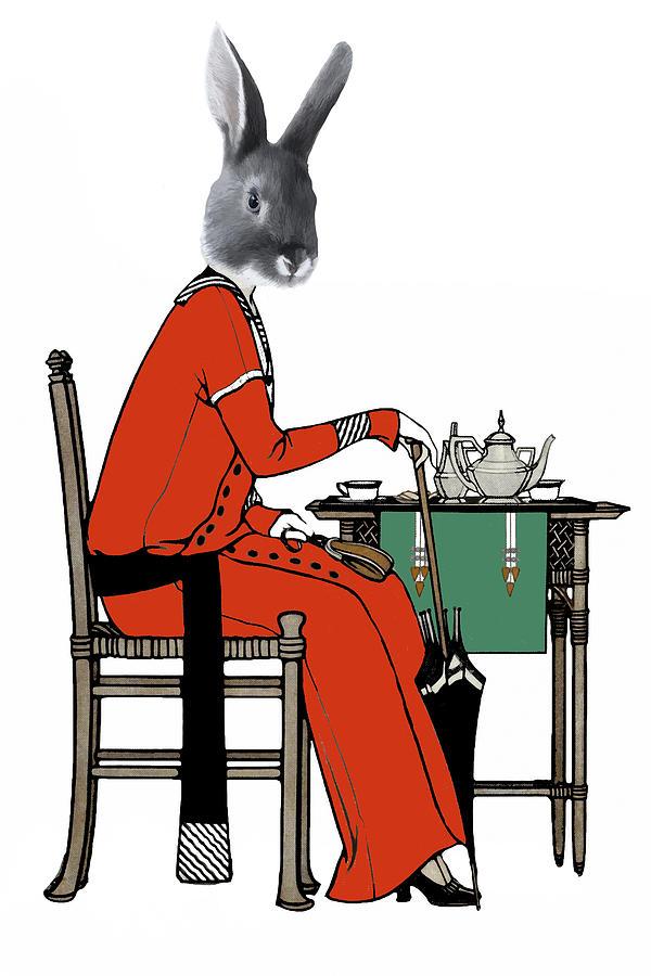 High Tea Digital Art