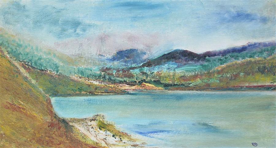 Highland Tranquility Original Painting