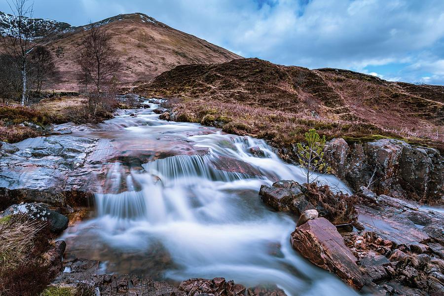 Highland Waterfall Photograph