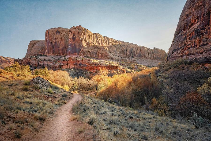 Hike To Morning Glory Arch Moab Utah IIi Photograph
