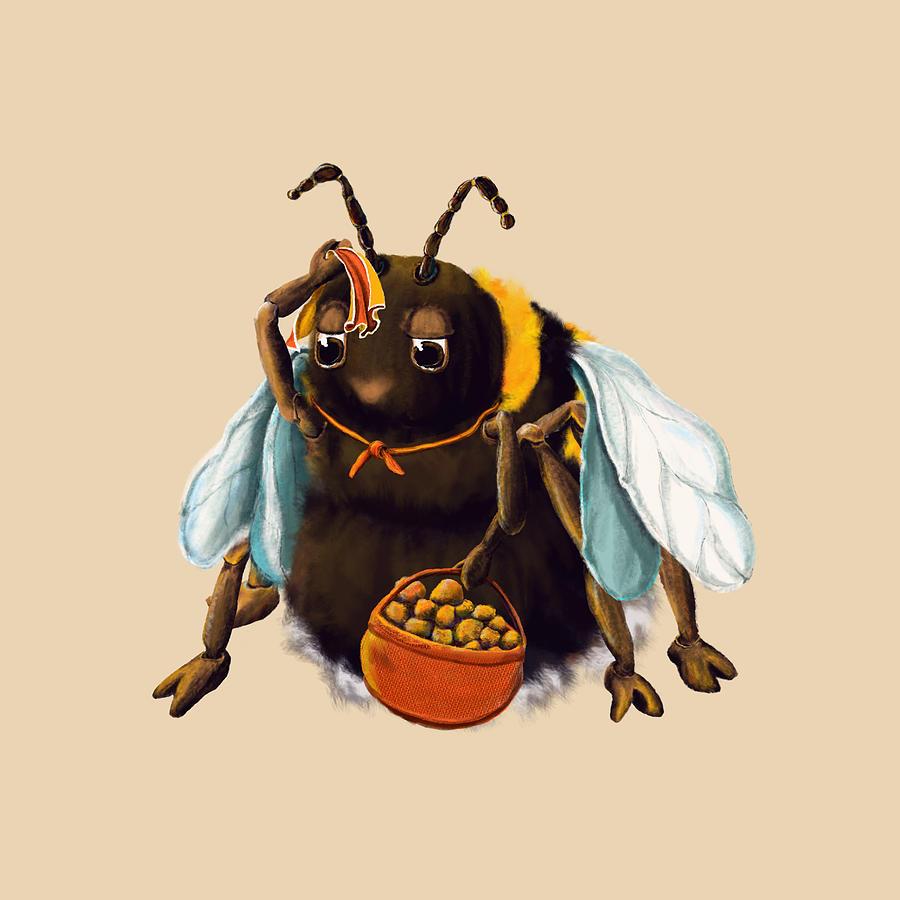 Hildtrud Hummel The Bumblebee Digital Art