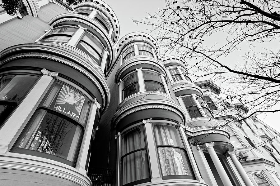 Hillary -- Condominium with Hillary Clinton Campaign Poster in San Francisco, California by Darin Volpe