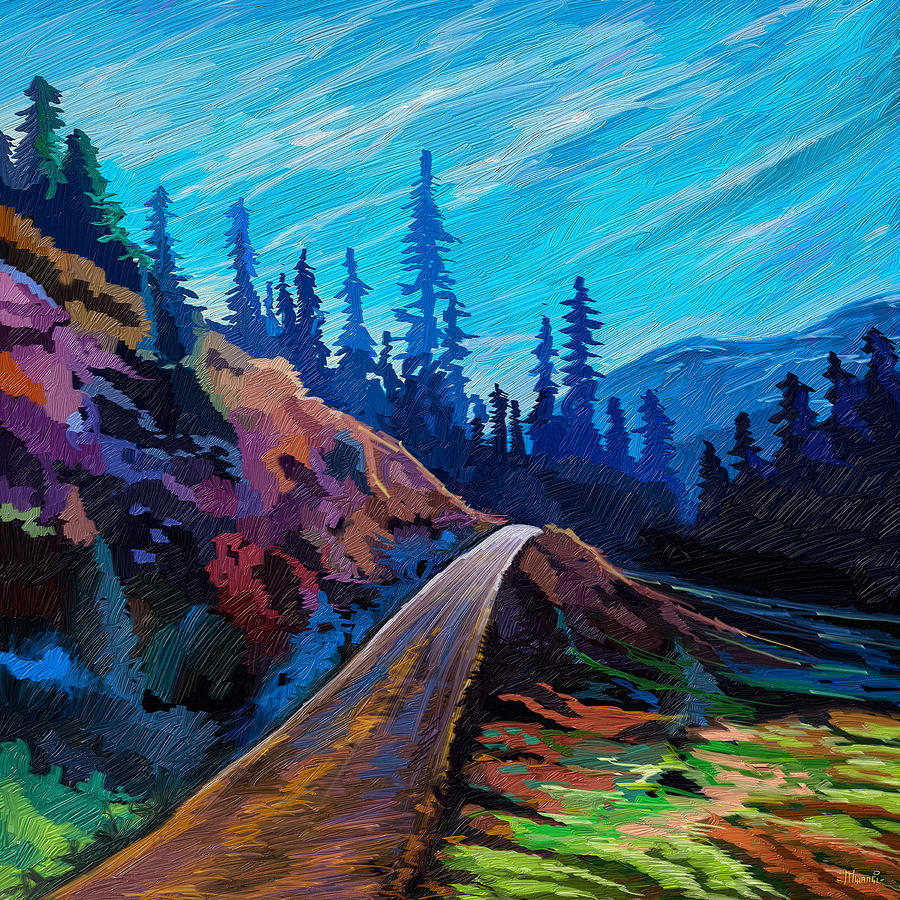 Hills Road Painting