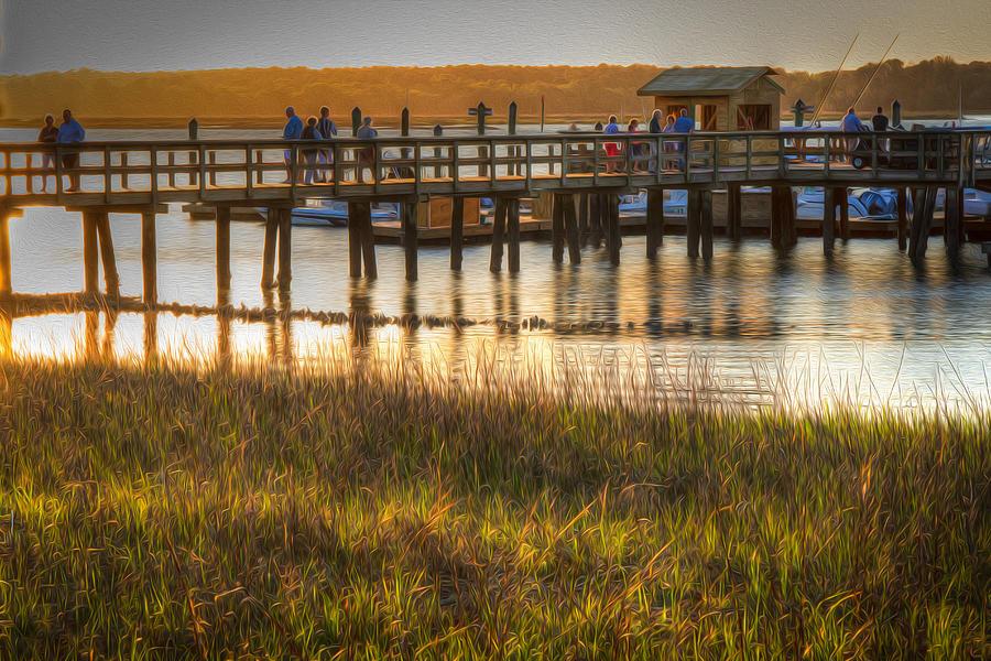 Hilton Head Sunset Photograph by Eden Watt