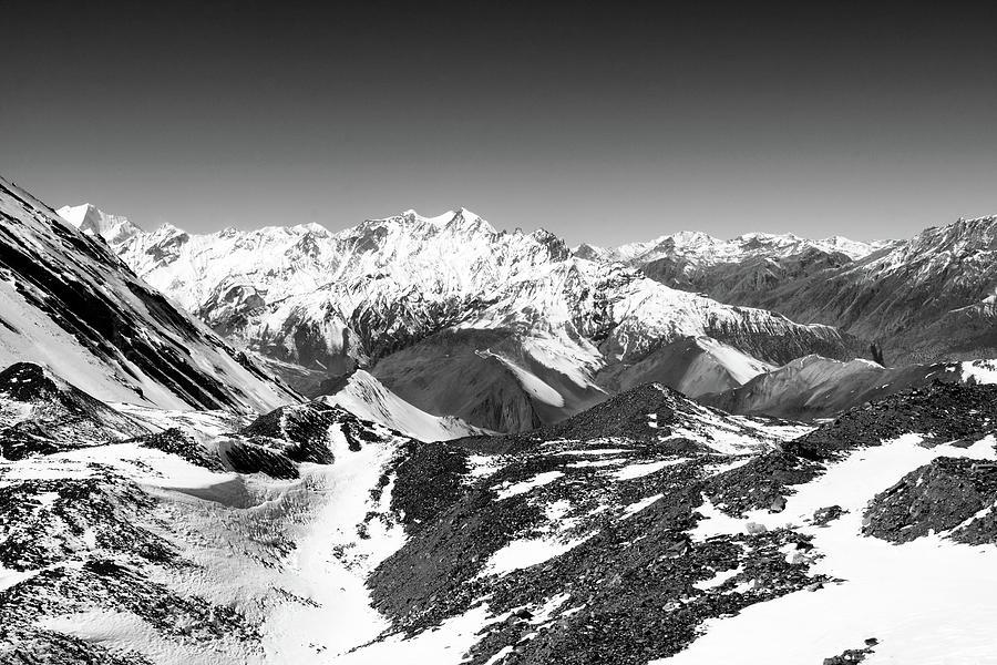Himalayan Mountain View by Aidan Moran