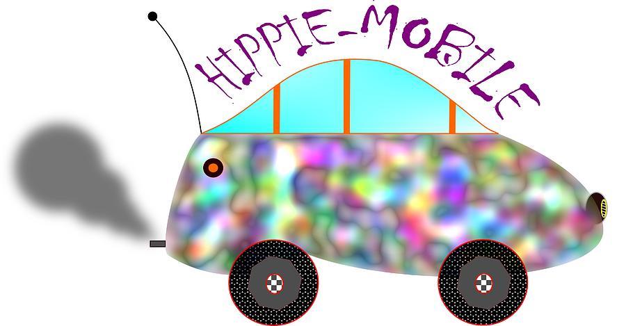 Hippie-mobile Photograph
