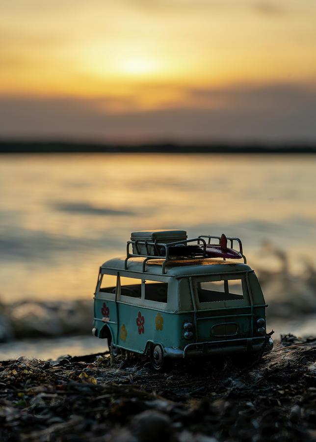 Hippie Van Photograph