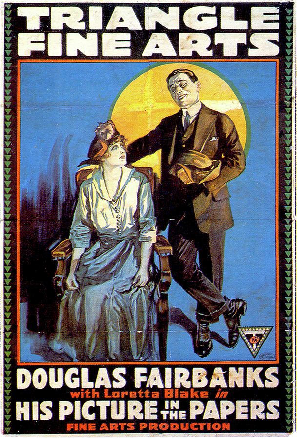 his Picture In The Papers Poster 1916 Mixed Media
