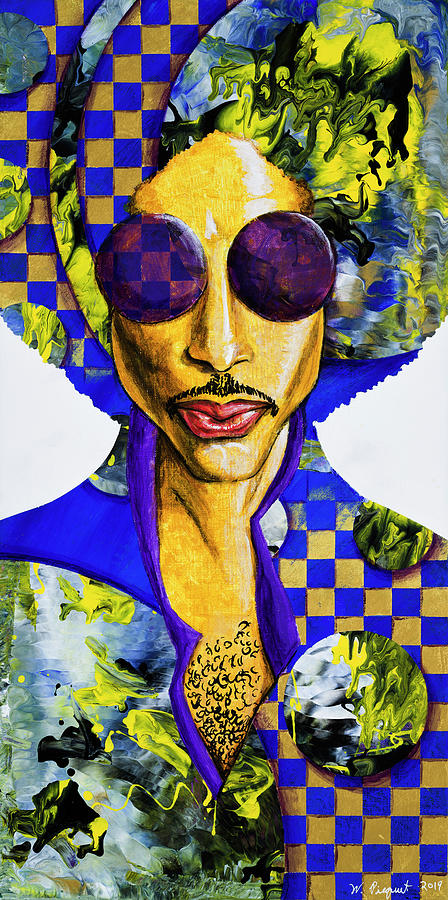 His Royal Badness Painting by Wardell Picquet