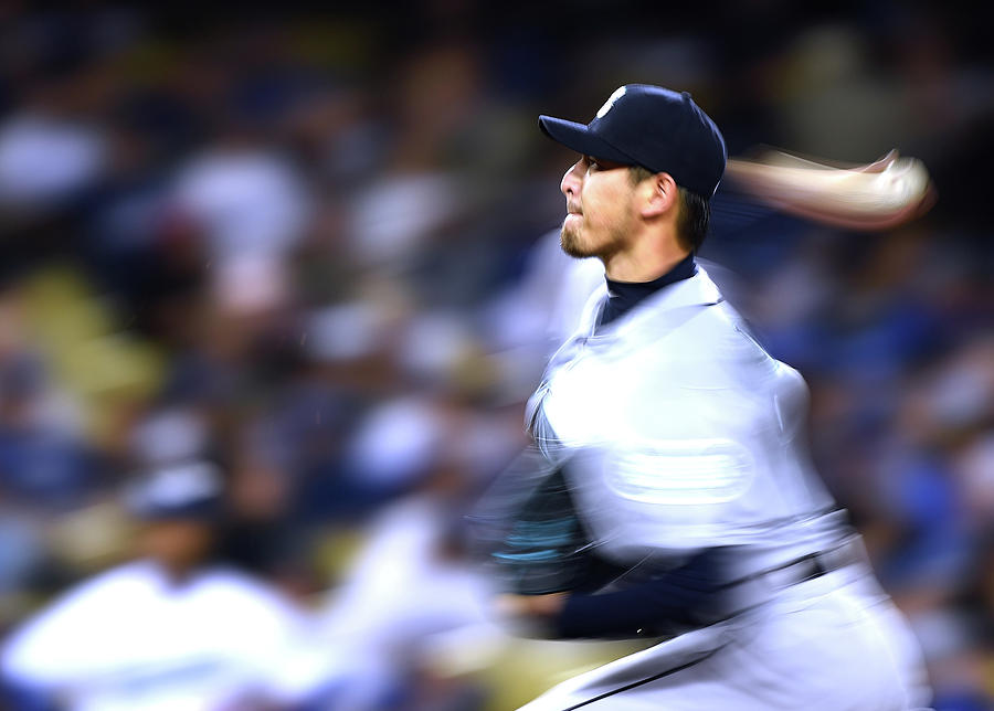 Hisashi Iwakuma Photograph by Harry How