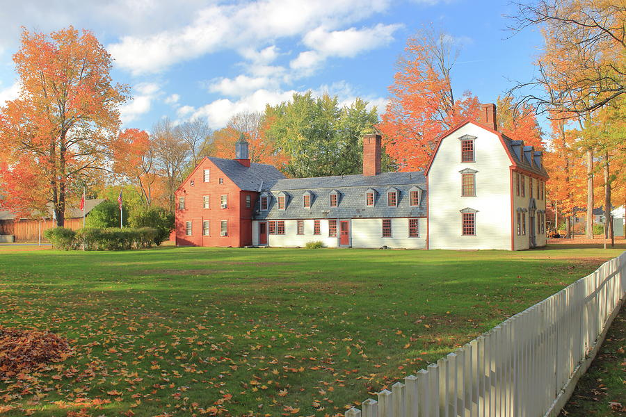 Historic Deerfield In Autumn Photograph