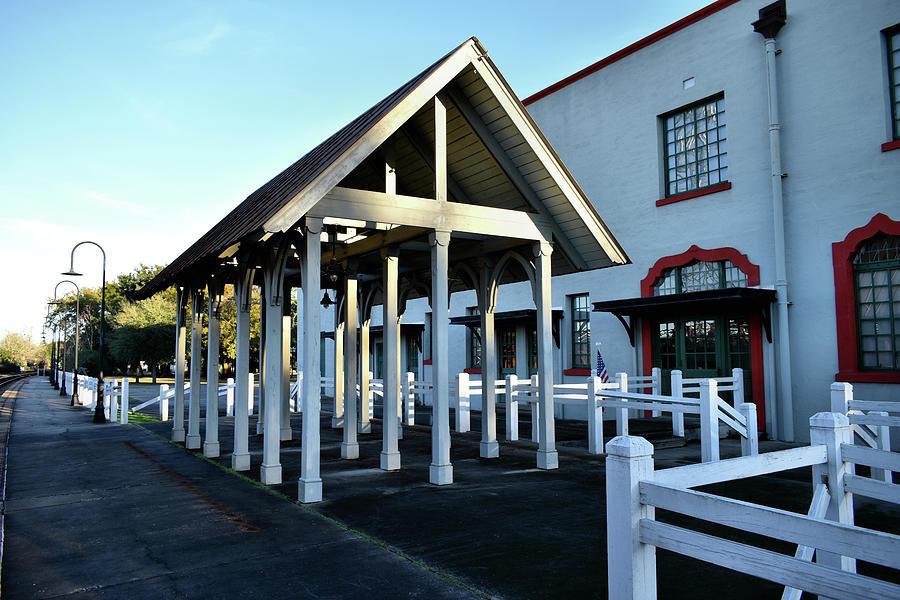 Historic Depot Loading Platform by Kathy K McClellan