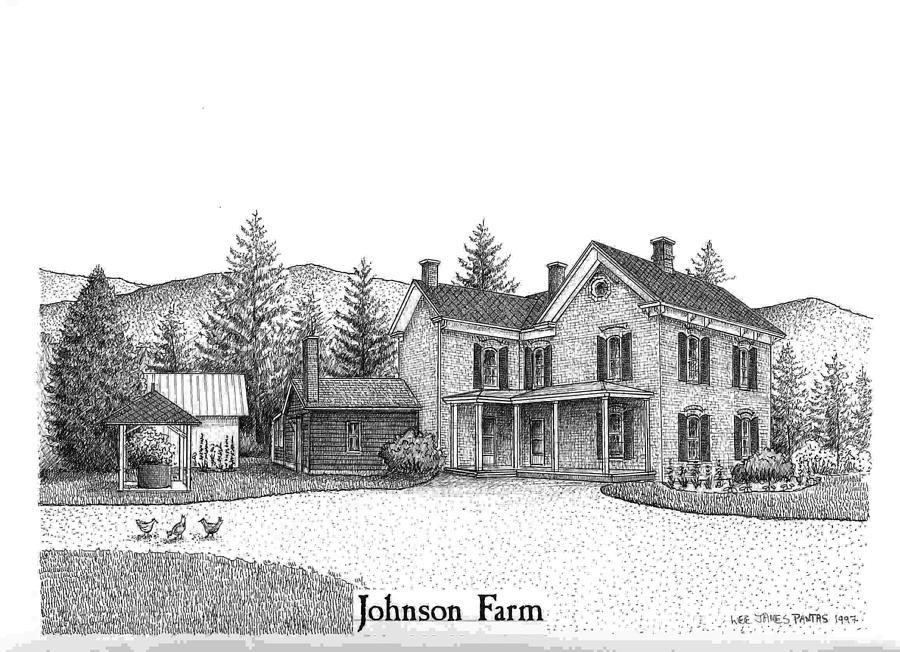 Johnson Farm Jewelry - Historic Johnson Farm by Lee Pantas