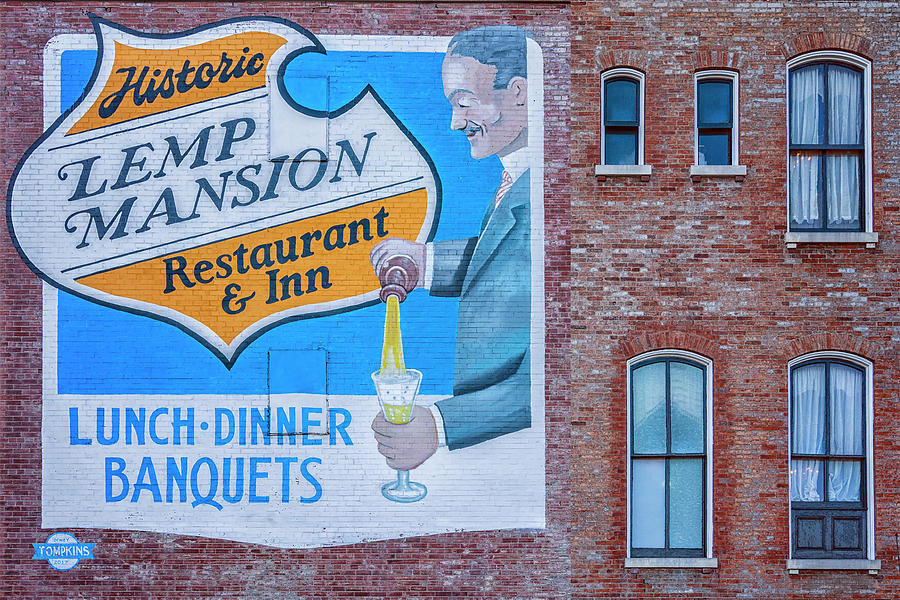 Historic Lemp Mansion Sign St Louis MO GRK8014_12102019 by Greg Kluempers