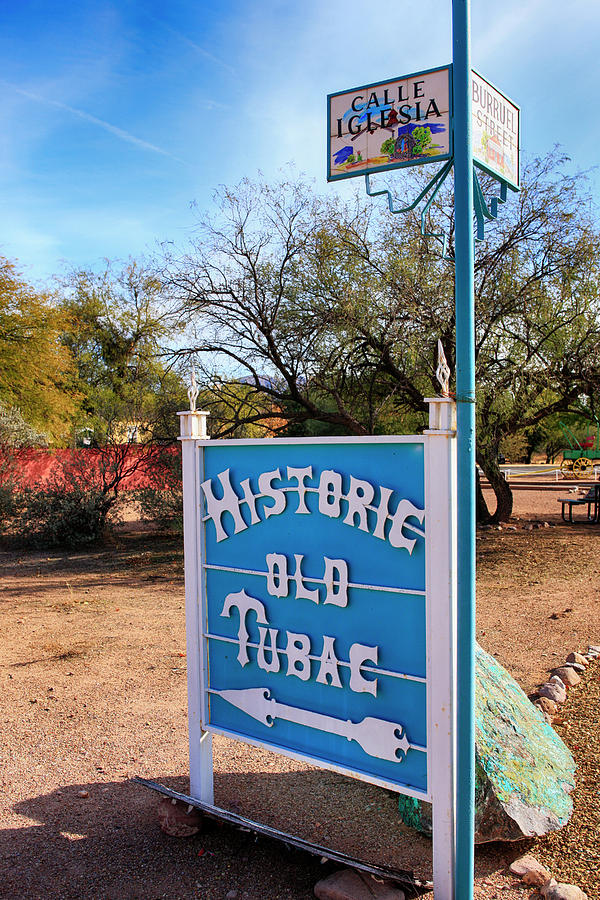 Historic Old Tubac by Chris Smith