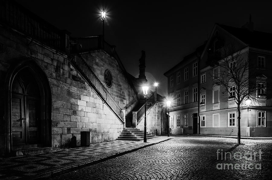 Historic Prague at Night 3 by Miles Whittingham