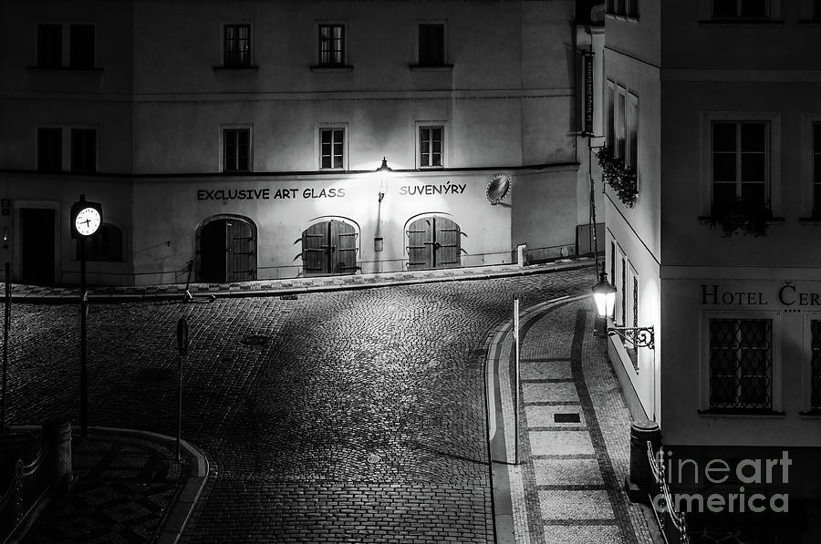 Historic Prague at Night 4 by Miles Whittingham