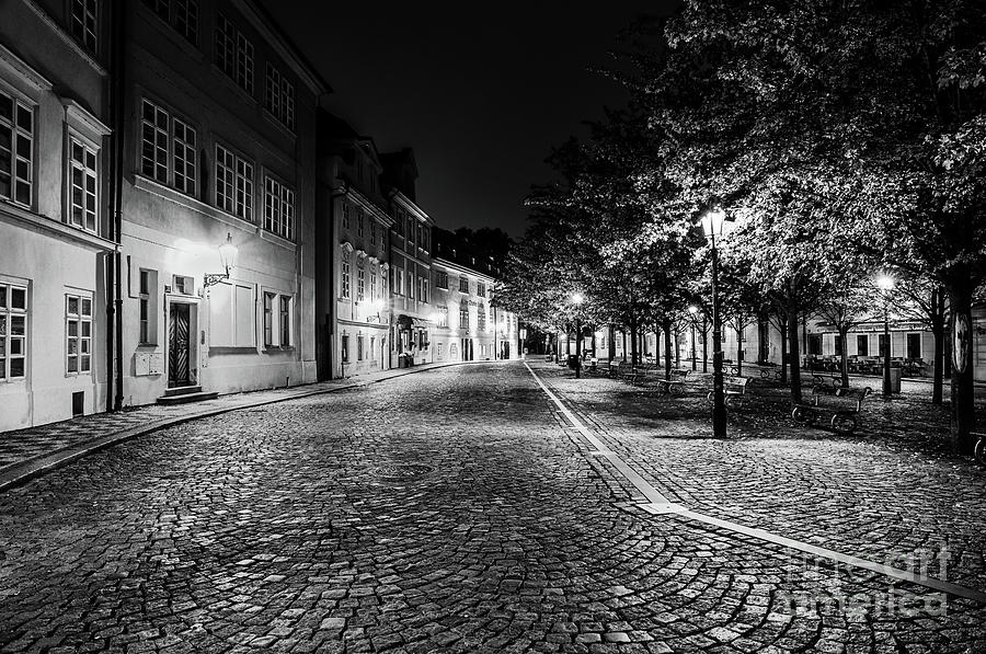 Historic Prague at Night 6 by Miles Whittingham