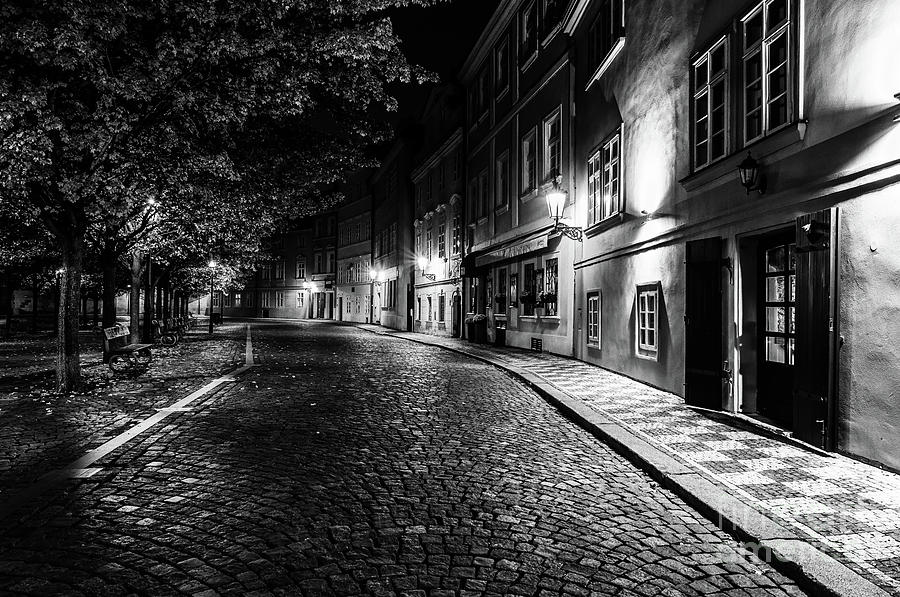 Historic Prague at Night 7 by Miles Whittingham