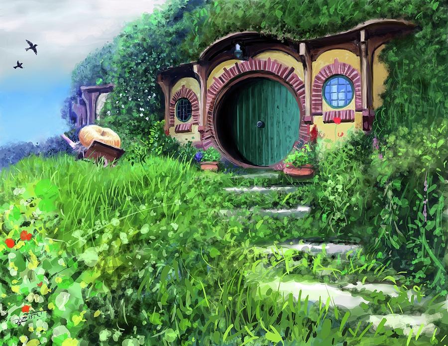 Hobbit Hole by David Luebbert