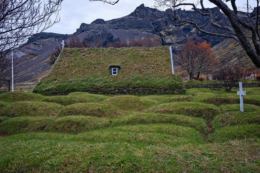Hofskirkja Church Iceland by Catherine Reading