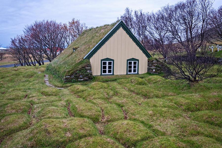 Hofskirkja Iceland by Catherine Reading