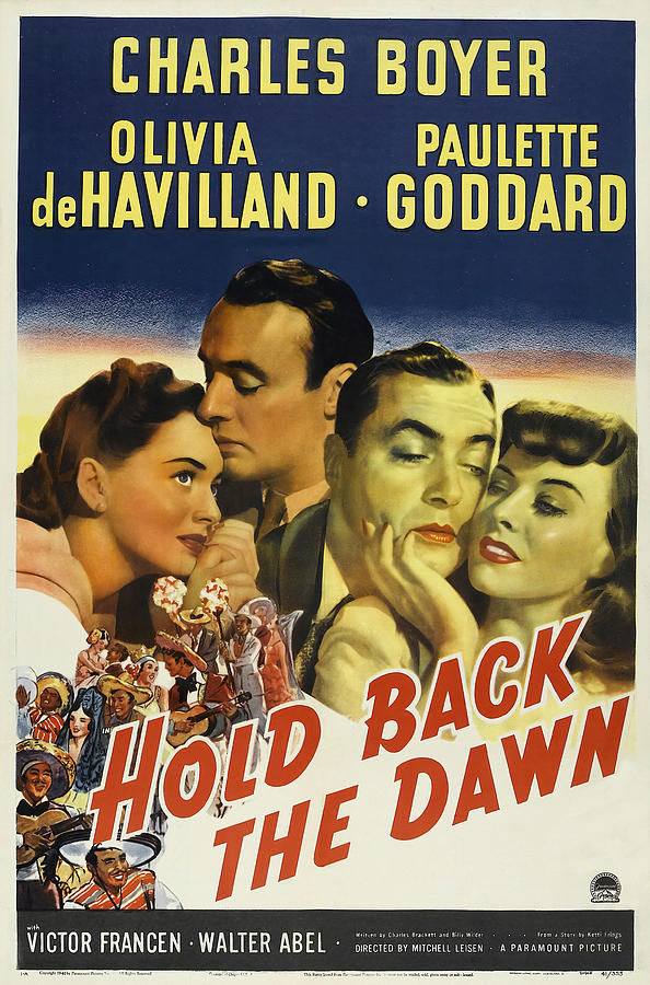 hold Back The Dawn, 1941 Mixed Media