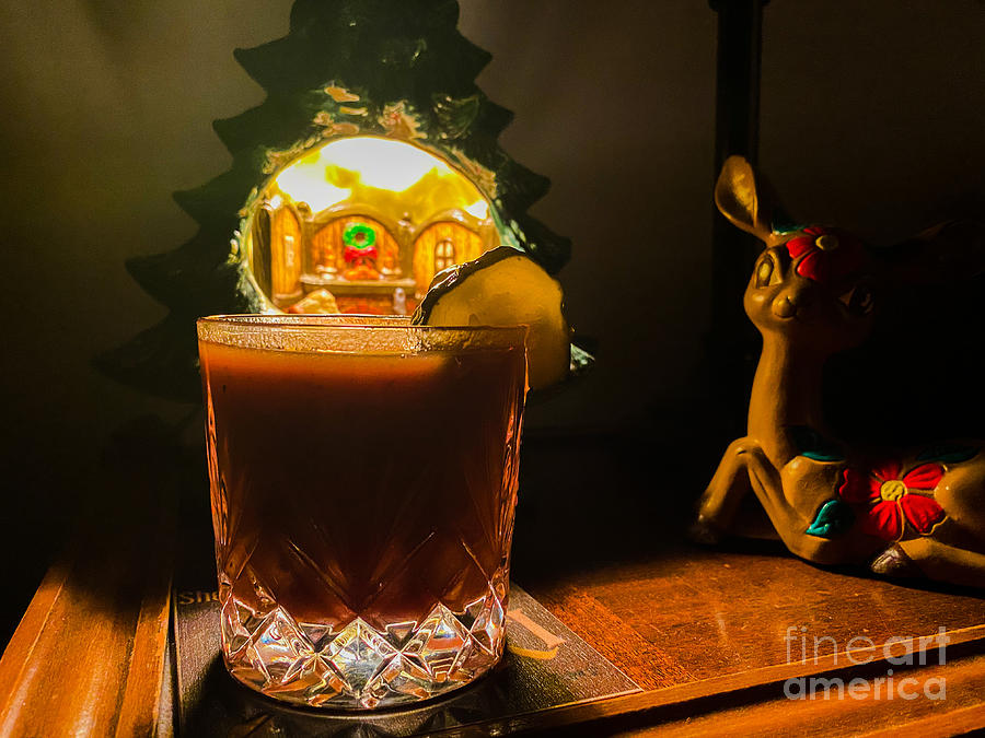 Holiday Drink Photograph