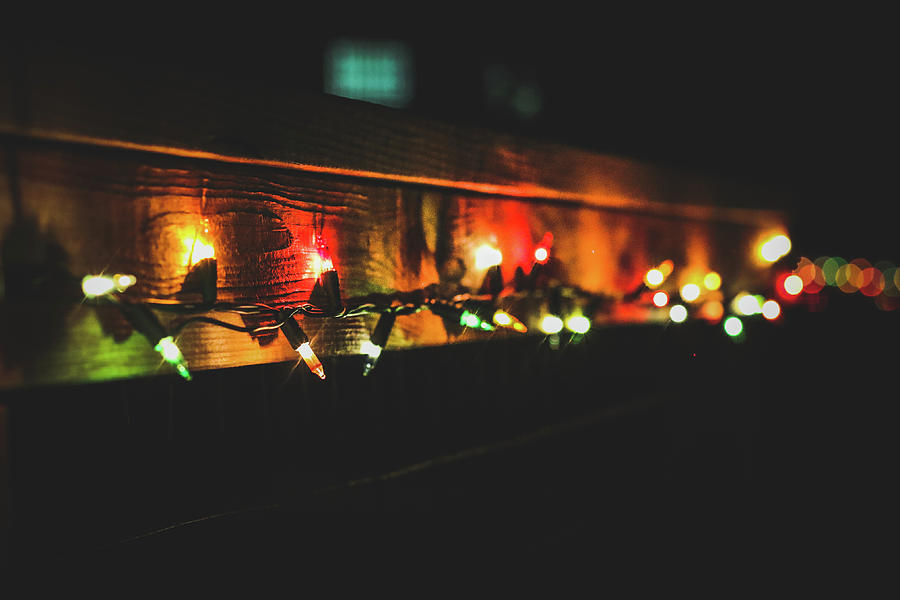 Christmas Photograph - Holiday Twinkles  by Kamie Stephen