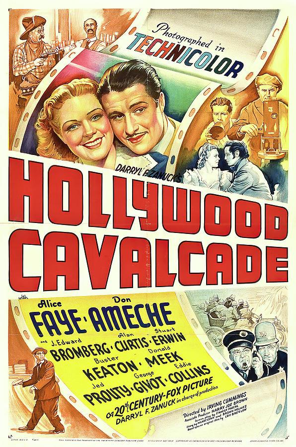 hollywood Cavalcade, With Alice Faye, 1939 Mixed Media