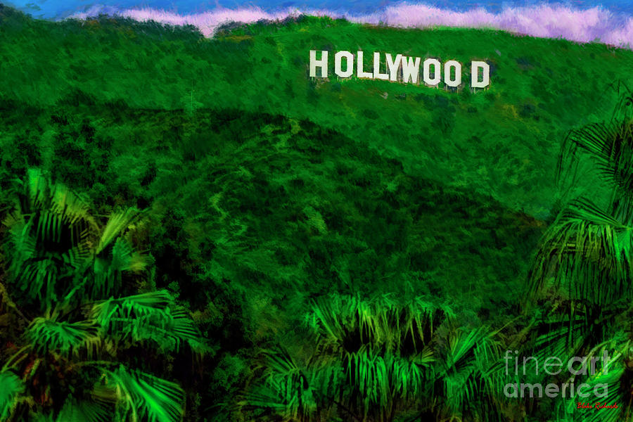 Hollywood Sign Los Angeles by Blake Richards