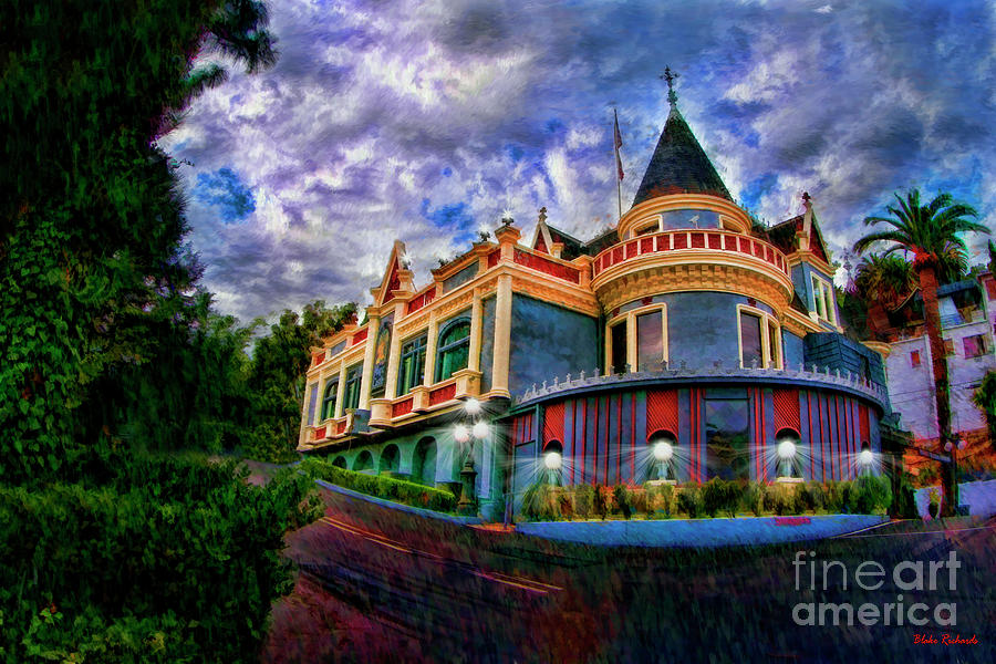 Hollywood's The Magic Castle by Blake Richards
