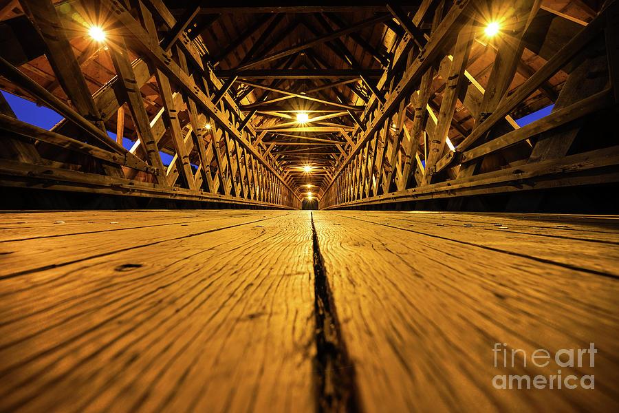 Holz Brucke Bridge Photograph