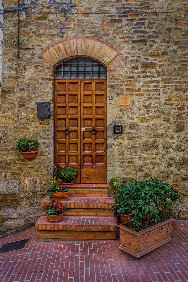 Home In Tuscany Italy Photograph