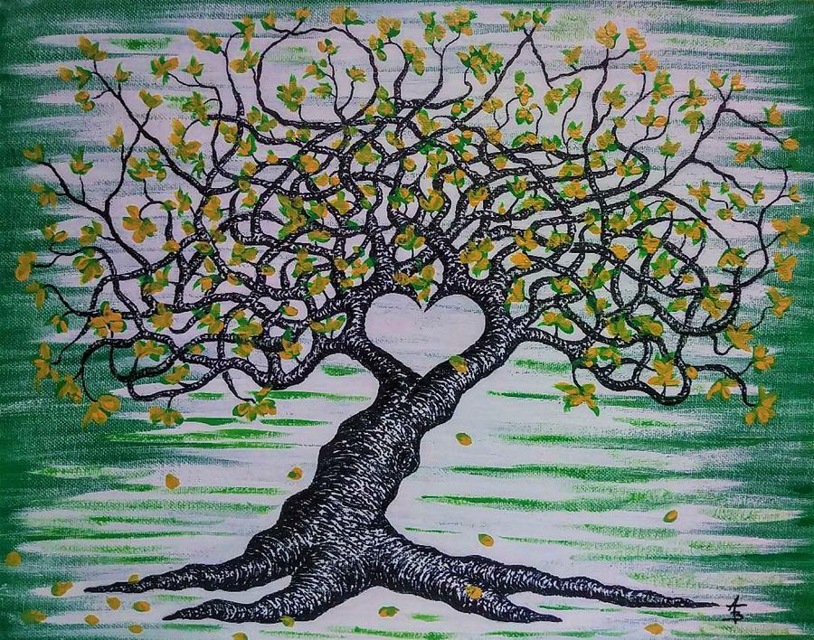 Home Love Tree by Aaron Bombalicki