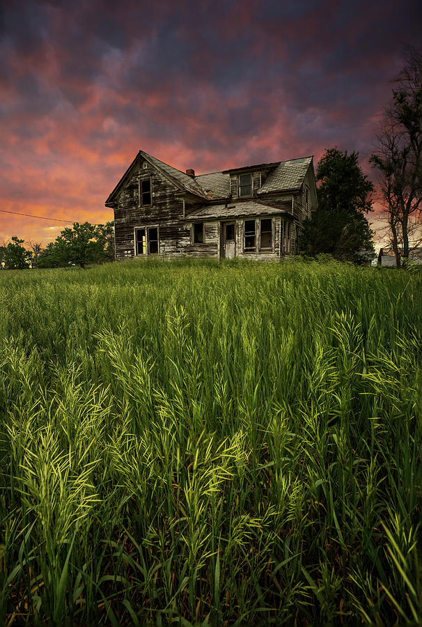 Abandoned Photograph - Home Sweet Home by Aaron J Groen