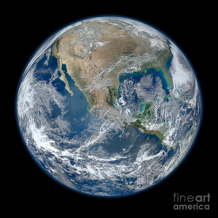 Home Sweet Home - Earth Photograph