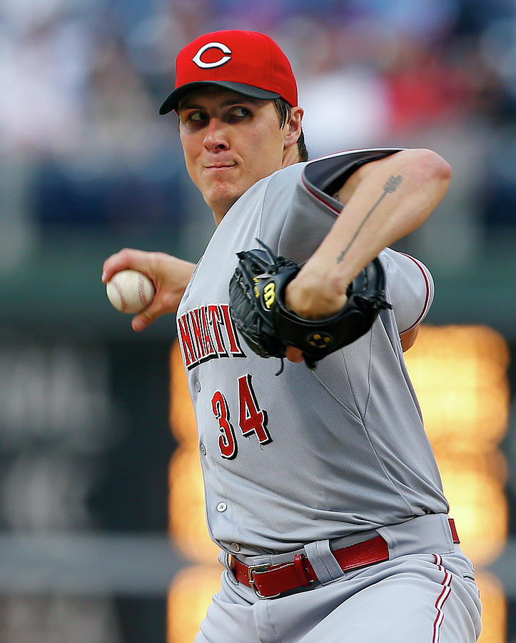 Homer Bailey Photograph by Rich Schultz
