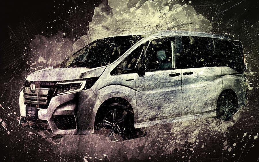 Honda Stepwgn Spada Hybrid Studio 2019 Cars Minivans ...