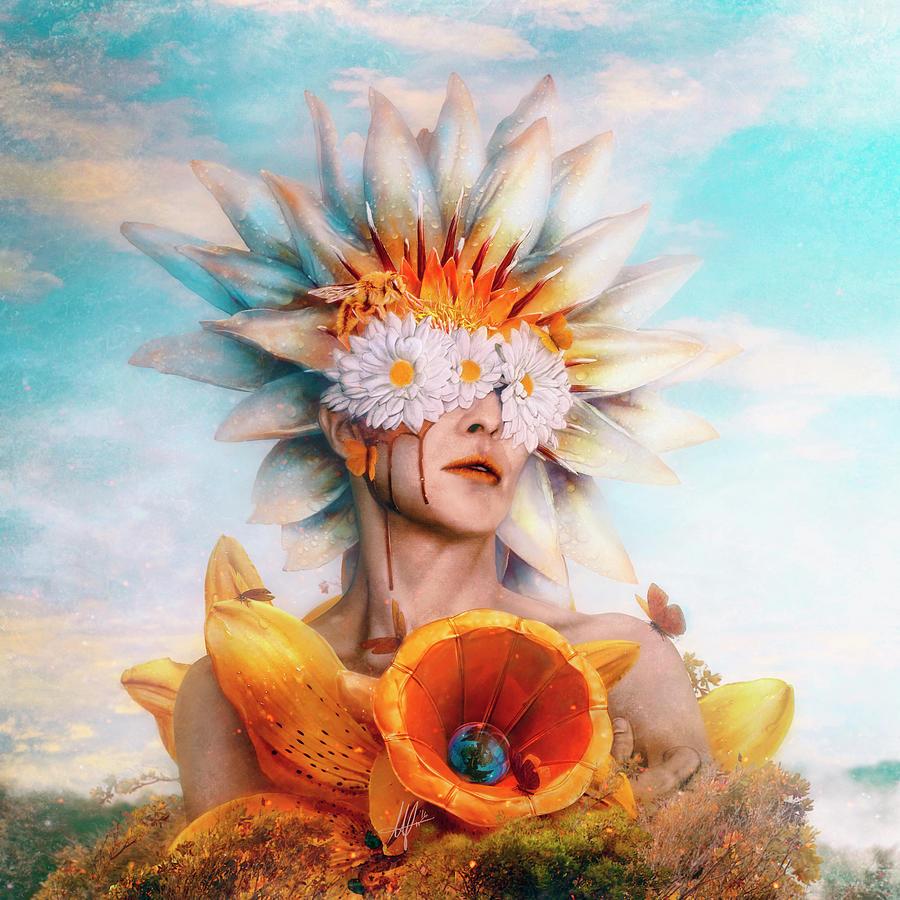 Surreal Digital Art - Honey by Mario Sanchez Nevado