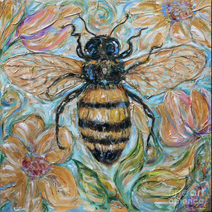 Honeybee and Nature by Linda Olsen