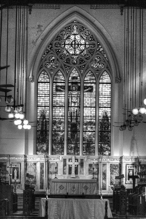 Hong Kong Church by Bill Hamilton